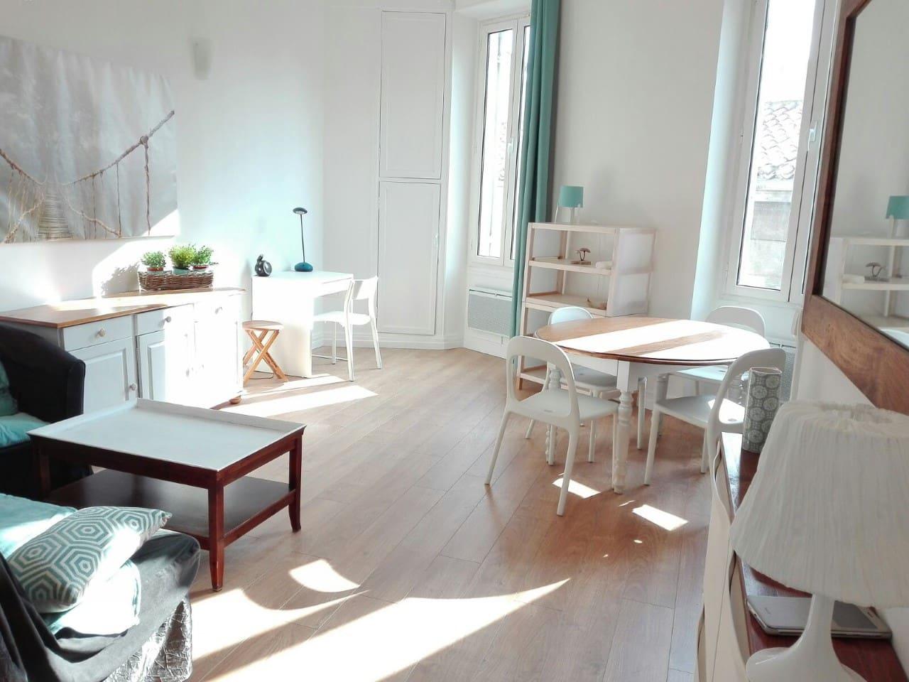 Appartement cosy au Cours Julien