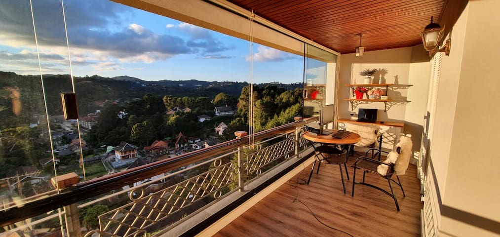 Amazing Flat with one of the best view at Campos !