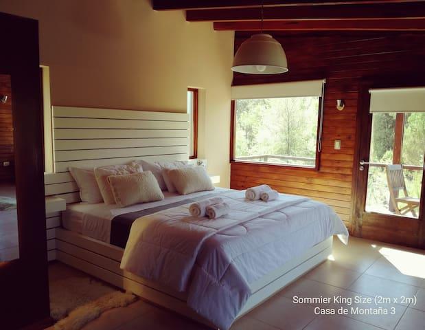 Casa de Montaña, Loft para Pareja - Córdoba - Alojamento ecológico