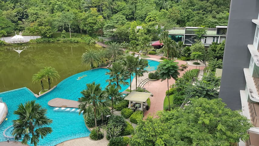 The Haven Ipoh (Lakeview Family Suite)
