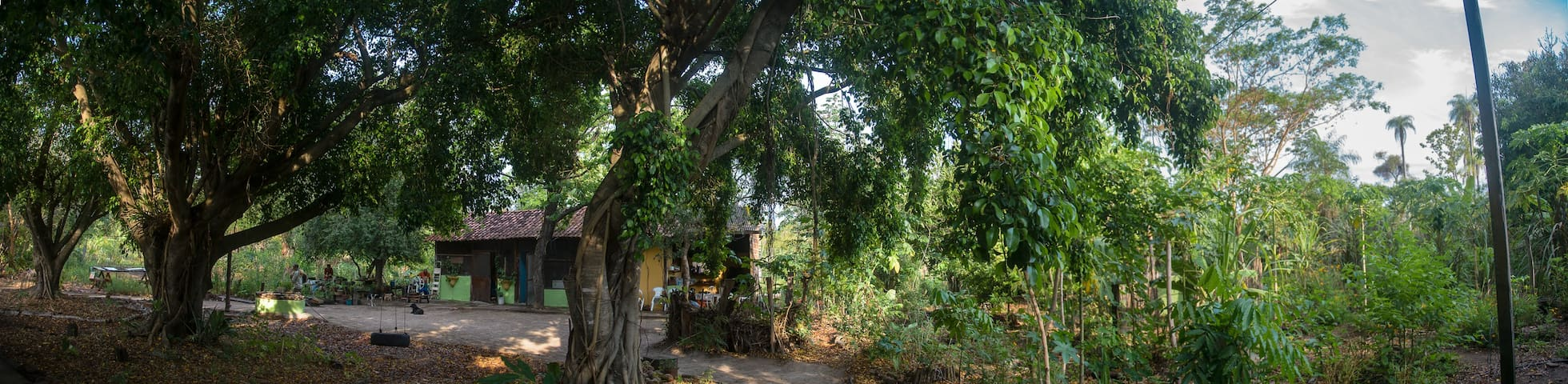 Zimmer im südlichen Pantanal mitten im Garten
