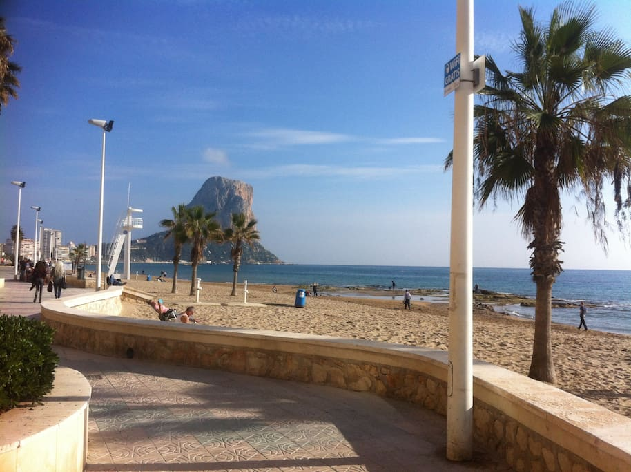 Calpe sea front