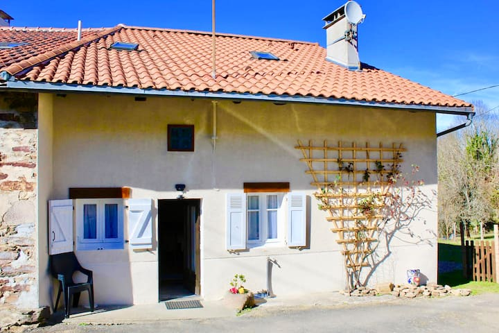 200 year old authentic French cottage, renovated