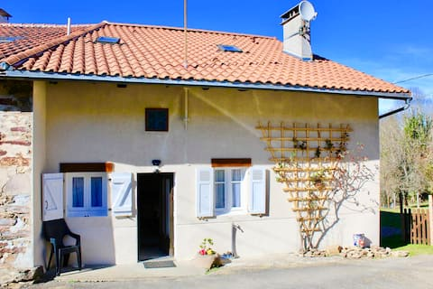 Maison Denise 200 yr old  French cottage renovated