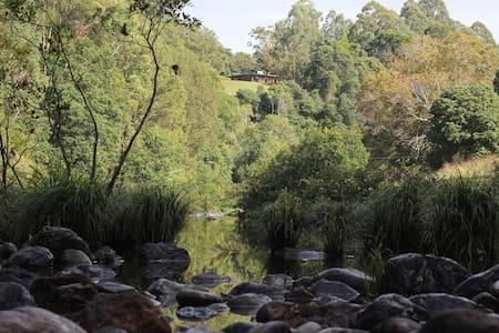Byron Bay hinterland creek & hills
