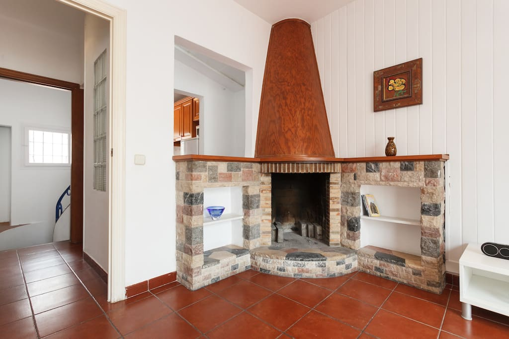 Charming Fireplace