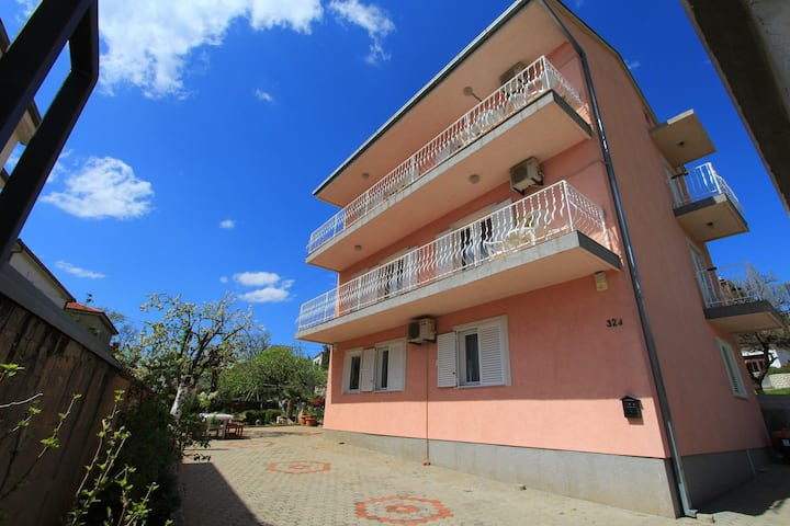 Three Bedroom Apartment, in Crikvenica, Balcony