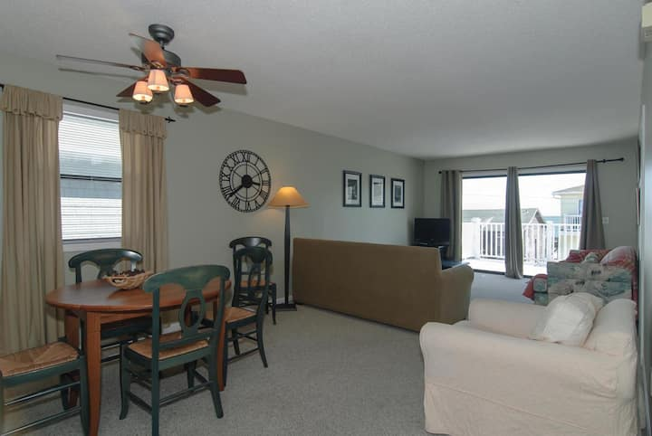 Zwolak-Great value for top floor condo with ocean views and pool access