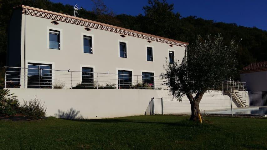 Chambre d'hote à 10min d'Albi, vallée du Tarn. - Saint-Gregoire