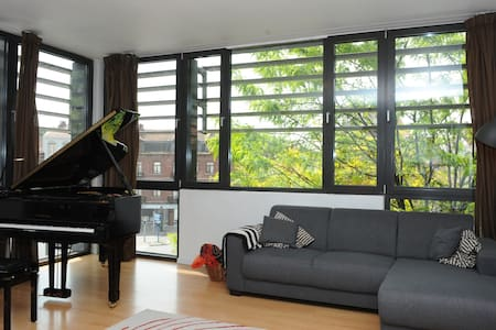 Nice&Sunny contemporary flat close to the centre - Bruxelas - Apartamento