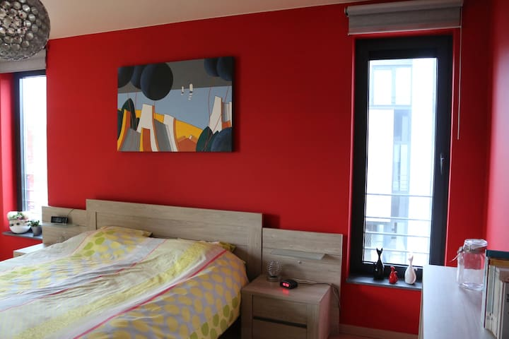 La chambre 1 - Lit double 160 cm