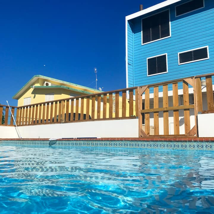 Sky Blue Chalet - Near most iconic beaches in PR