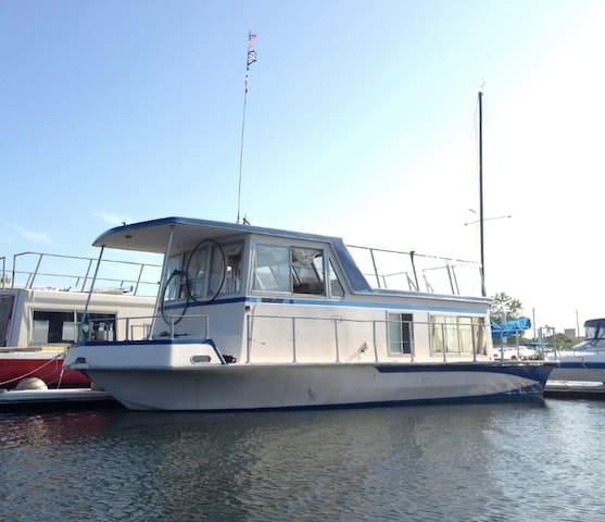 Houseboat in the Rockaways