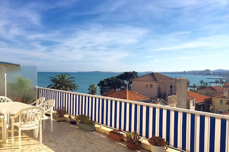 2 rooms calm and bright apartment - Cagnes-sur-Mer