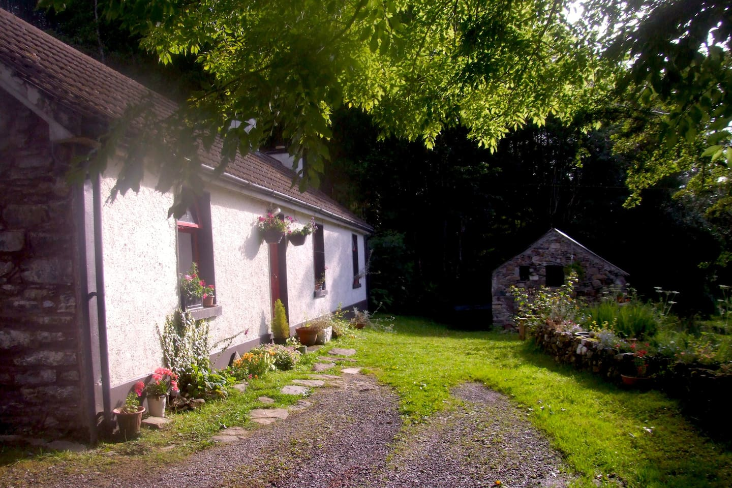 Lough Anna Cottage, Donegal