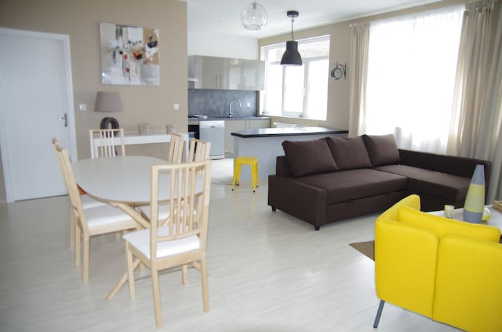 Beautiful apartment 4 people + 2 - レンズ - アパート