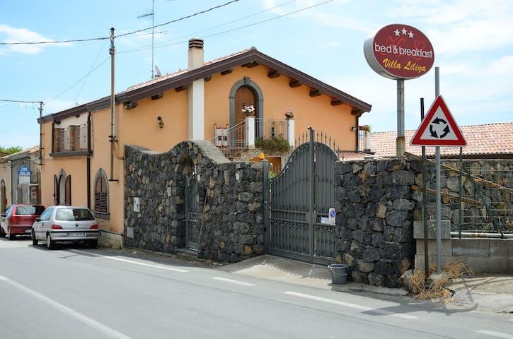villa liliya 2, near Taormina 1 - Fiumefreddo di Sicilia - Bed & Breakfast