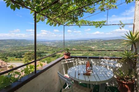 Maison Olive - Pool with panomaric view - Caseneuve