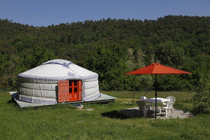 Ferien in einer mongolischen Jurte - Collobrières - Jurte