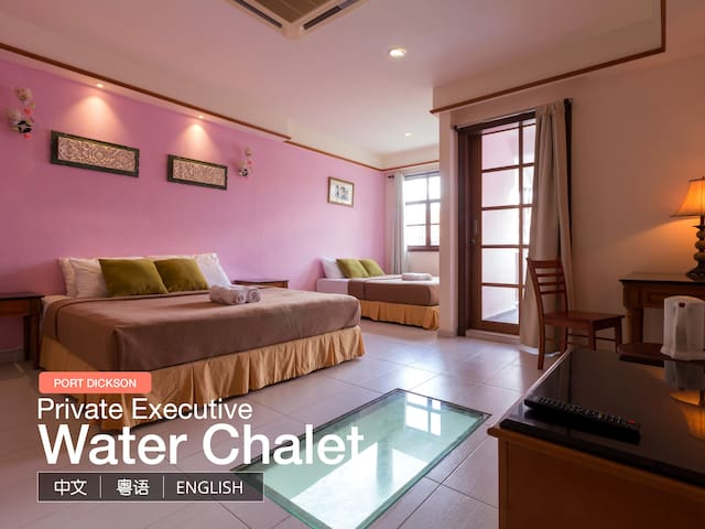 Private Executive Water Chalet @ Port Dickson