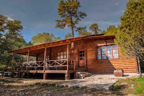 Preciosa cabaña en Bosques de Montesión