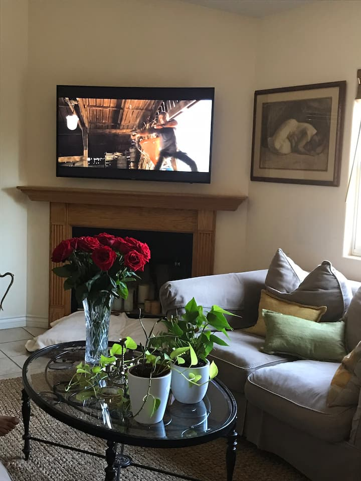 1 BD in a Beautiful cottage with a warm feeling.