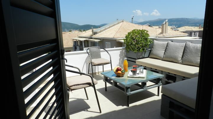Lefkas City view Apartment
