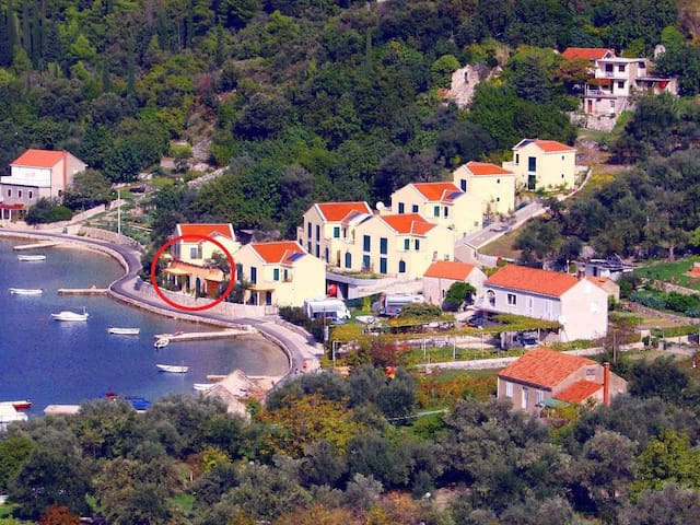 Three bedroom house with terrace and sea view Slano, Dubrovnik (K-14554)