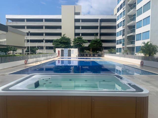 ¡Amplio y hermoso apto en Barranquilla - Miramar!