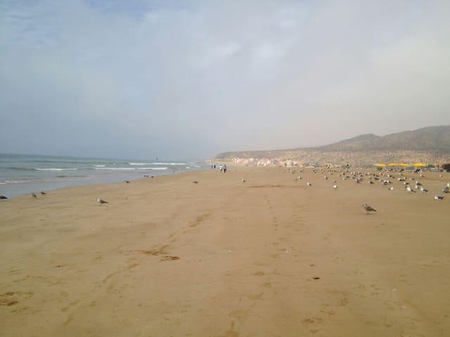 Appartement sur la plage - Imi Ouaddar - Daire