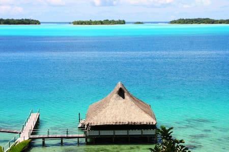 Bora Bora Fare N° 4 sur pilotis - Bora Bora - Casa