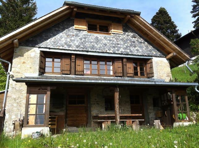 Charming home near Montreux - Montreux - 木屋
