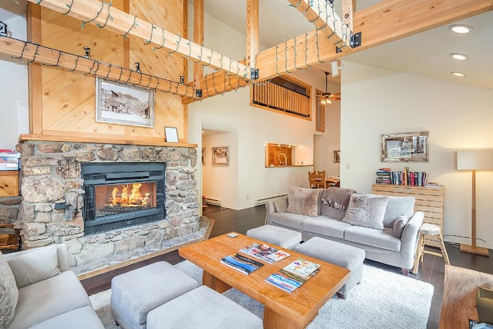 Superb Telluride Location Just Steps to the Ski Hill and Packed with Amenities Including a Community Pool and Grill