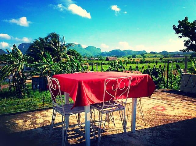 View on the mountain Villa Susana (room2)