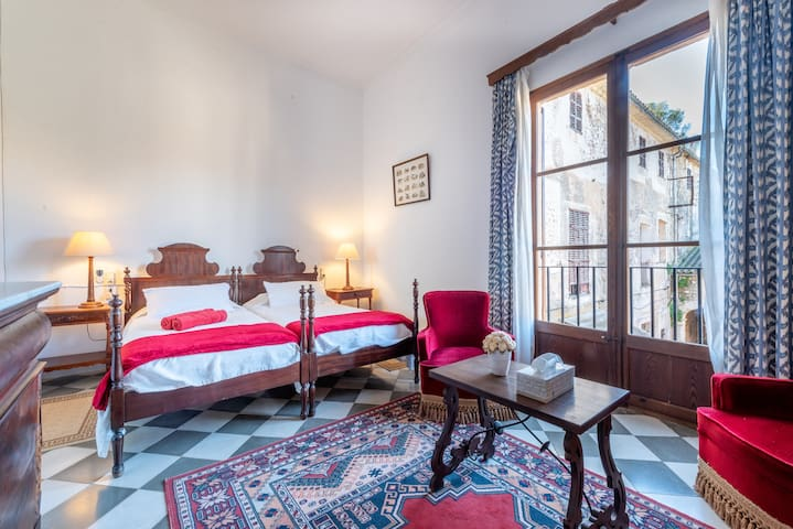Cosy Room in Guest House Son Vivot with Pool, Terraces & Wi-Fi; Parking Available, Breakfast Included