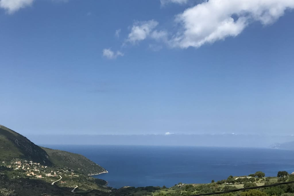 Views of the ionian Sea