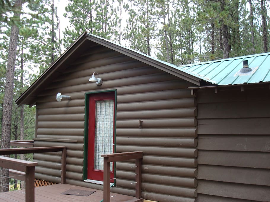 Cozy black hills cabin for 2 cabins for rent in lead for Cabine black hills south dakota