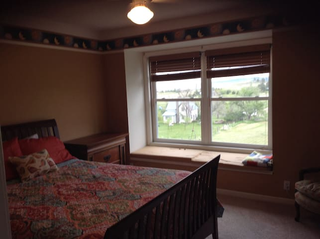 Queen guest room with a view - Spearfish - Casa