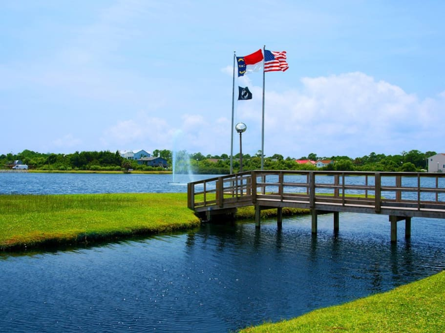 The Carolina Beach Lake hosts many activities during the summer months including family movie night on Sundays, the Farmer's Market on Saturdays, and fun on the paddle boats all year long. Located only a block away from The Beach House.