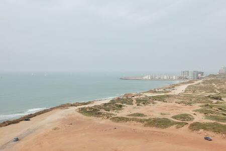 Front beach view apartment! 13th Floor! N Tel Aviv