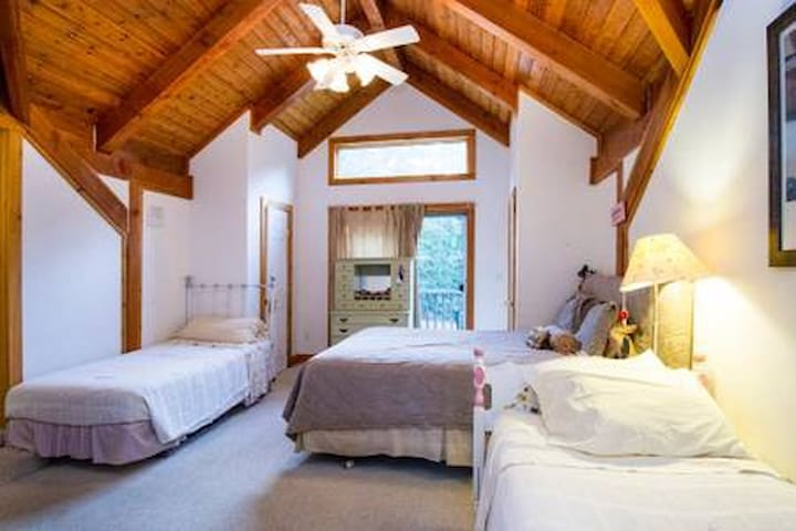 Sag Harbor room in the woods