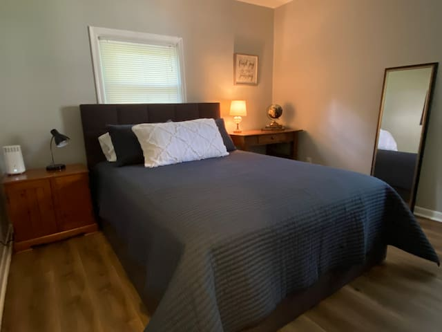 Bedroom two with queen size pillow top mattress