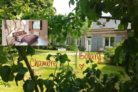 Room Bovary - Les Clés d'Auriane - Grumesnil