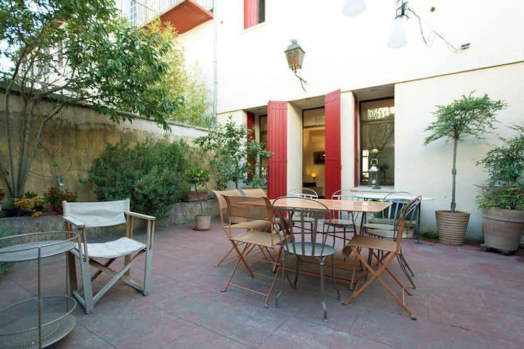 Chambres d 39 h te en centre ville bed breakfasts zur - Chambre d hote aix en provence centre ville ...