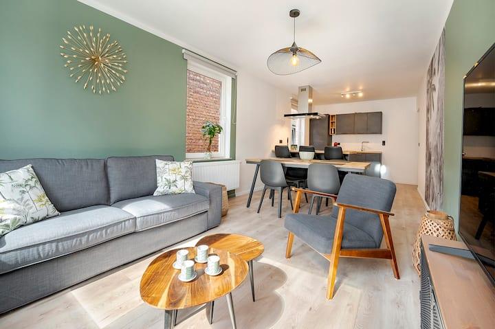 Vert de Gris: Family Confort downtown La Roche