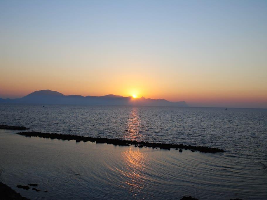 Trappeto, sea view