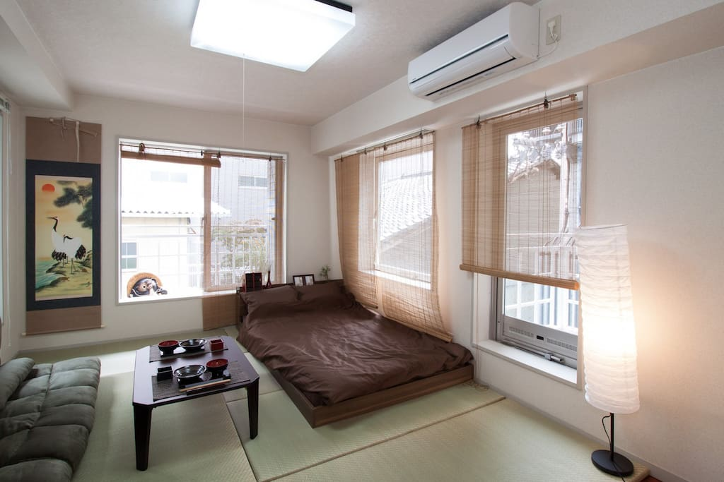 japanese style and western style apartments for rent in