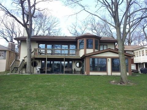 Stunning Lake Front Home