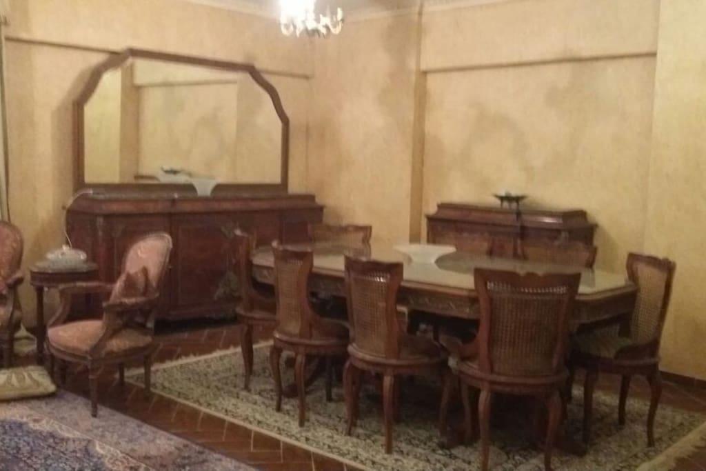 Stylish Dining room and Salon