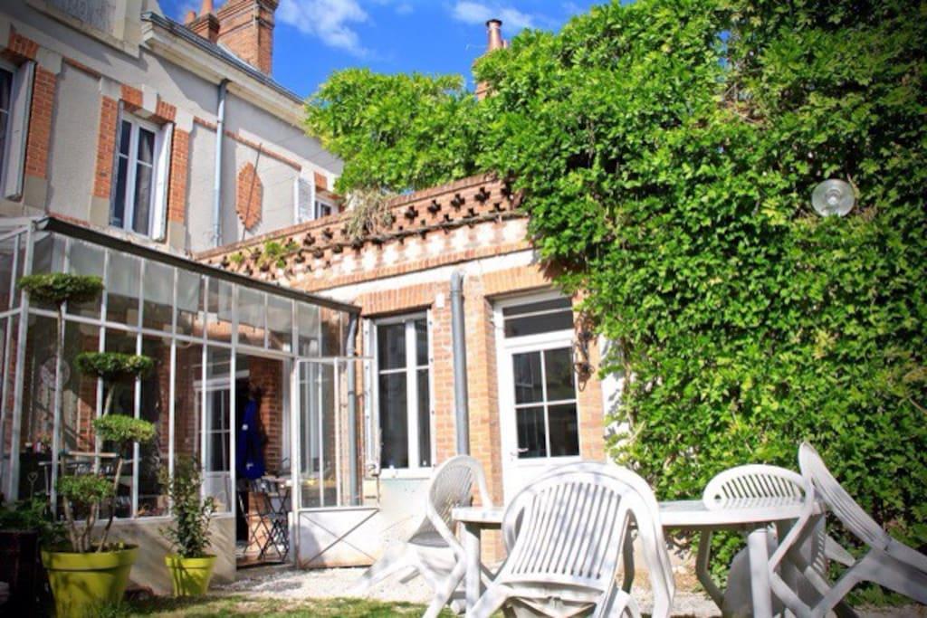 Chambre avec terrasse centre ville chambres d 39 h tes louer romorantin lanthenay centre - Chambre d hote londres centre ville ...